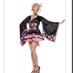Leg Avenue 3PC.Cherry Blossom Geisha Costume